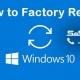 ریست فکتوری ویندوز 10|رایانه کمک-شاخص