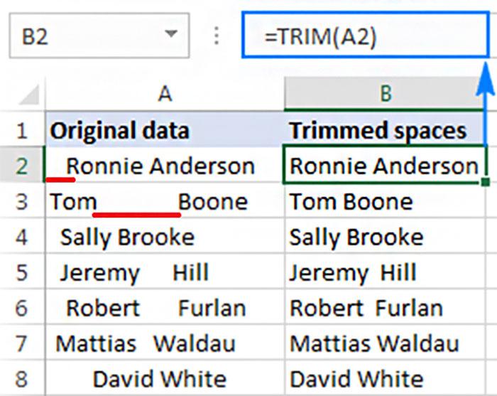 تابع TRIM چیست؟ | خدمات کامپیوتری در محل
