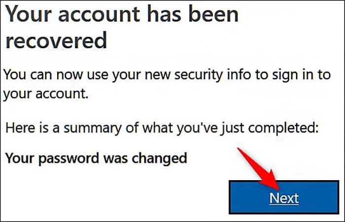 Your account has recovered | پاسخ آنلاین به مشکلات موبایل