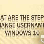 چگونگی تغییر نام در ویندوز 10 رایانه کمک