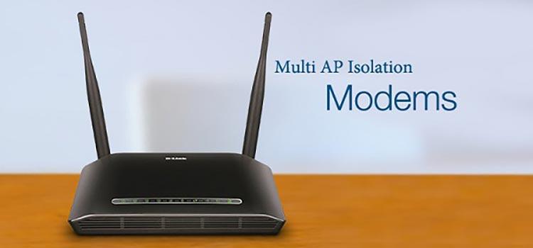 ویژگی AP Isolation و Multi AP Isolation در مودم | خدمات کامپیوتری تلفنی