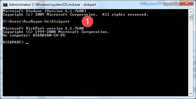 استفاده از دیسک پارت برای حل مشکل درایو در ویندوز 10 | خدمات کامپیوتری تلفنی