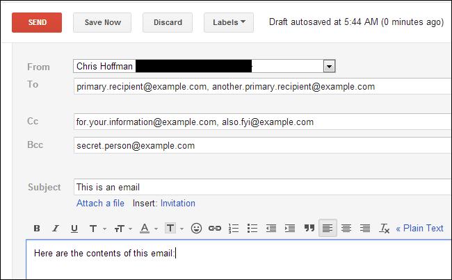 تفاوت BCC و CC در ایمیل | رایانه کمک