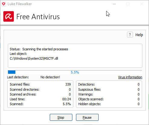 مراحل کار با آنتی ویروس آویرا | تعمیرات سخت افزار تلفنی