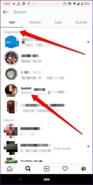 حذف سرچ اینستاگرام | خدمات کامپیوتری آنلاین