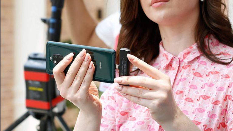 ( ميكروفون مدل Rode Wireless GO Compact Digital Wireless  تعمیر لپ تاپ تلفنی)