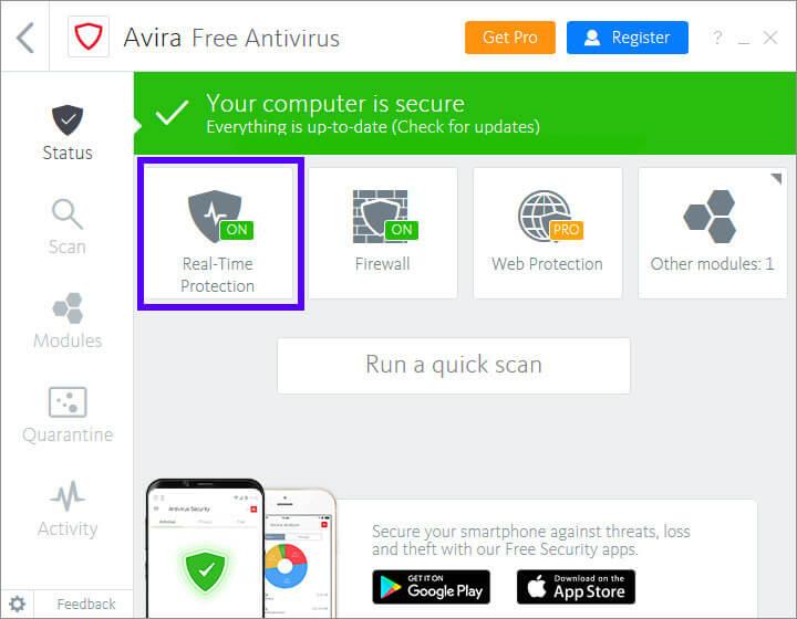 نصب و راه اندازی آنتی ویروس Avira | تعمیر گوشی تلفنی