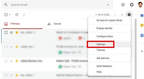 اولین مرحله دانلود برنامه گوگل جیمیل برای کامپیوتر   رایانه کمک سراسری