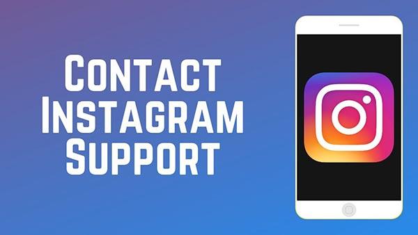 تماس با پشتیبانی اینستاگرام