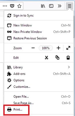 پرینت با مرورگر Firefox و تنظیمات مهم پرینت صفحات وب|رایانه_کمک_حل_مشکلات_کامپیوتری
