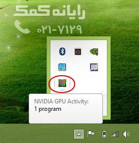 NVIDIA GPU Activity - رایانه کمک