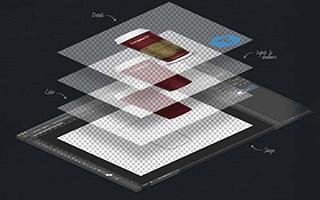 فتوشاپ ؛ آموزش خروجی گرفتن لایه از بین چندین لایه با فرمت | تعمیرات کامپیوتر و لپتاپ در محل