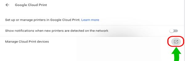 Google Cloud Print | مشکلات و ارور کامپیوتری