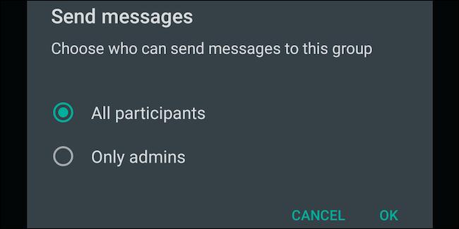 ارسال پیام در گروه قفل شده واتساپ | رایانه کمک