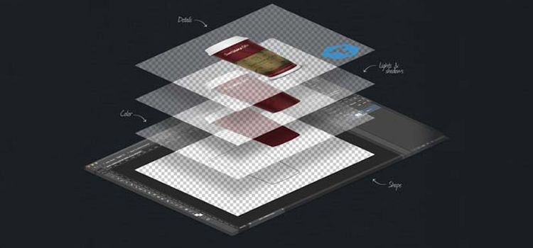 نحوه خروجی گرفتن لایه در فتوشاپ | راهنمای کامپیوتر