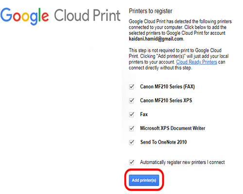 آموزش جامع کار با Google Cloud Print یا قابلیت چاپ ابری | حل مشکل و ارورهای کامپیوتری