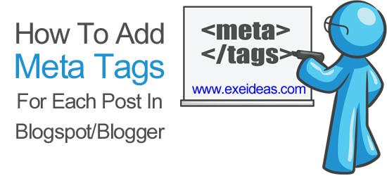 How-To-Add-Meta-Tags-For-Each-Post-In-Blogspot-or-Blogger
