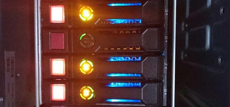 چراغ LED پاور   رایانه کمک