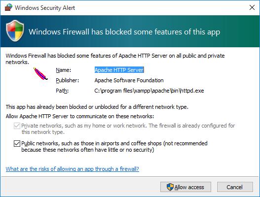 firewall-issue