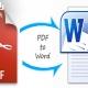 تبدیل pdf به word|رایانه کمک